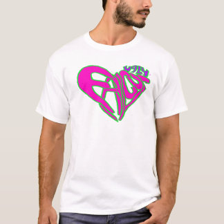 Ugly Falcon heart pink T-Shirt