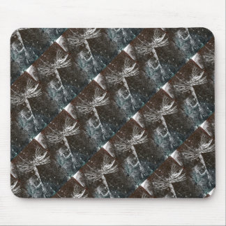 """Ugly Fly Tiled"" Trout Fly Mousepad"
