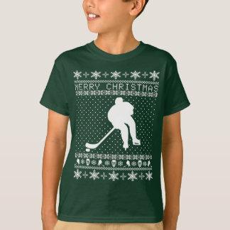 Ugly Hockey Christmas Sweater