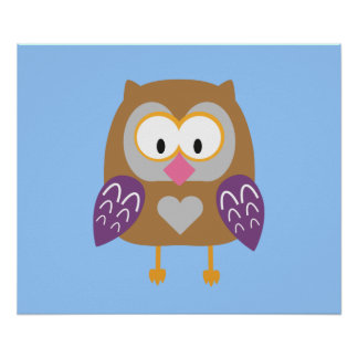 Ugly owl poster