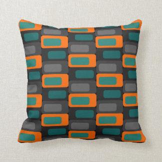 Ugly Pillow Co. - Retro Cubes Throw Pillow
