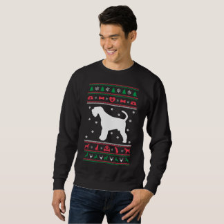 Ugly Sweater Airedale dog Christmas