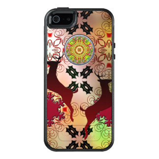 Ugly Sweater Christmas Reindeer Design OtterBox iPhone 5/5s/SE Case
