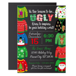 Ugly Christmas Sweater Gifts on Zazzle CA