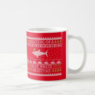 Ugly Sweater Shark - Great White Christmas Coffee Mug