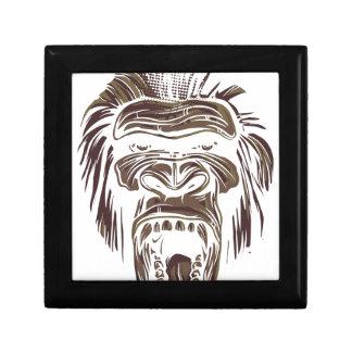 ugly vintage monkey gift box