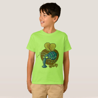 ugly wasp funny bee cartoon T-Shirt