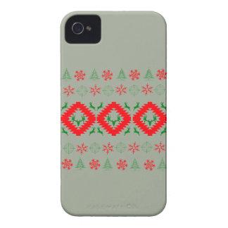 Ugly xmas 1 iPhone 4 case