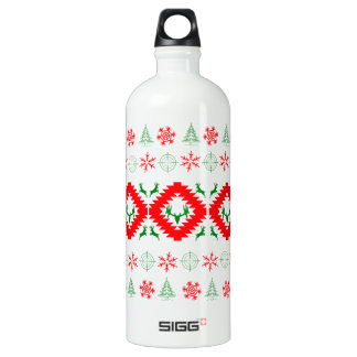 Ugly xmas 1 water bottle