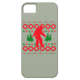 Ugly Xmas Bigfoot iPhone 5 Covers
