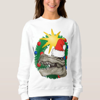 Ugly Xmas Christmas Santa Dino Sweater Jumper