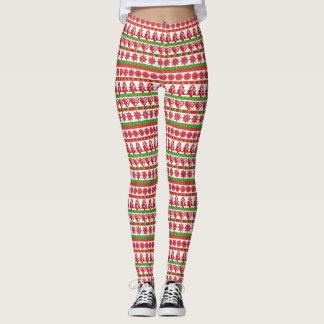 Ugly Xmas Sweater Leggings