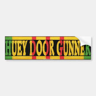 UH-1 Huey Door Gunner VSM Bumper Sticker