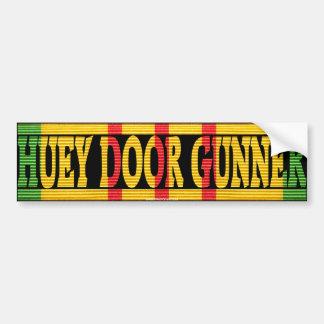 UH-1 Huey Door Gunner VSM Bumper Sticker