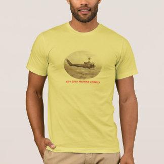UH-1 Over Vietnam Paddies T-Shirt