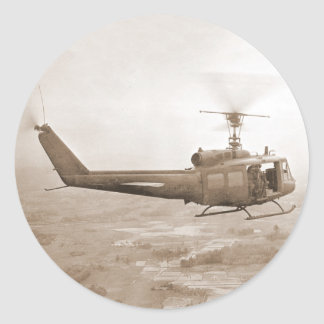 UH-1 Slick over Nam sticker