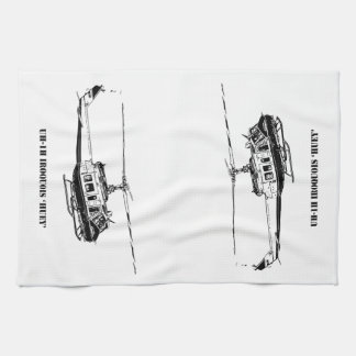 UH-1H Iroquois Helicopter Kitchen Towel