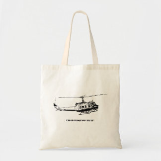 UH-1H Iroquois Helicopter Tote Bag
