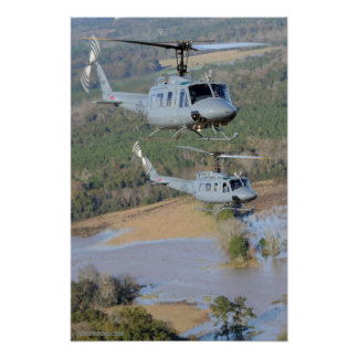 UH-1H Iroquois Poster