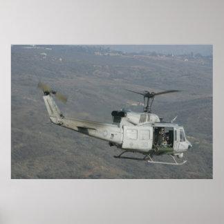 UH-1N Huey Poster