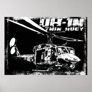 UH-1N Twin Huey Print