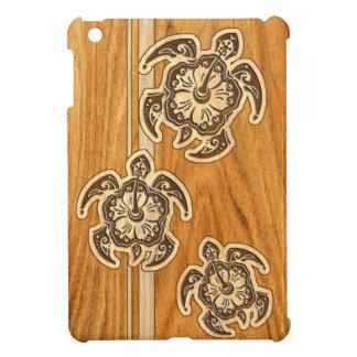 Uhane Honu Faux Wood Hawaiian Turtle iPad Mini Case For The iPad Mini