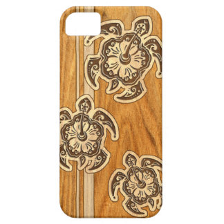 Uhane Honu Faux Wood Hawaiian Turtle iPhone 5 Case