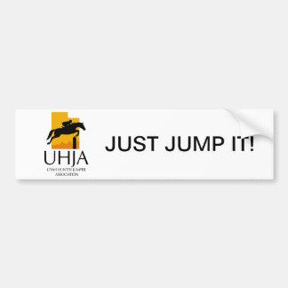 UHJA Bumper Sticker