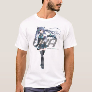 UK Anime Network Classic White T Shirt