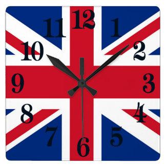 UK Britain Royal Union Jack Flag Clocks
