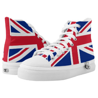 UK Britain Royal Union Jack Flag High Tops