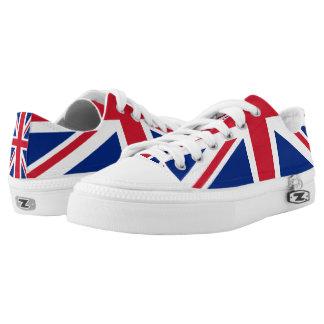 UK Britain Royal Union Jack Flag Low-Top Sneakers