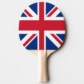 UK Britain Royal Union Jack Flag Ping Pong Paddle