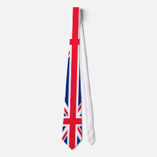 UK British Great Britain England English Flag Tie