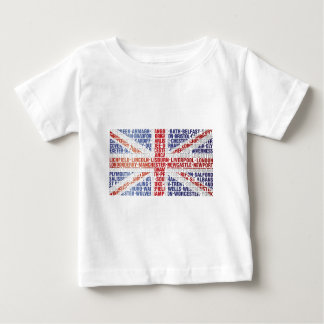 UK CITY NAMES FLAG BABY T-Shirt
