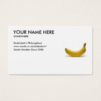 UK Customize Your Card Banana UK