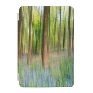 UK England   Bluebell Oak Woodland in Springtime iPad Mini Cover