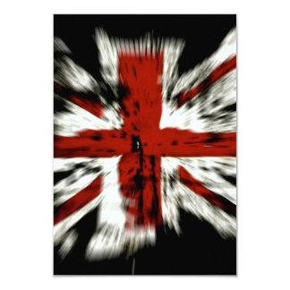 UK England Flag Personalized Invite