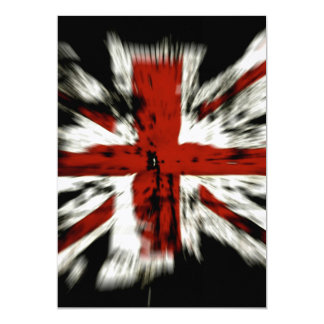 UK England Flag Custom Announcement