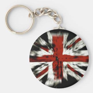 UK England Flag Key Chain