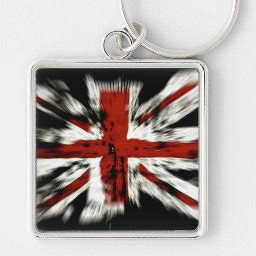 UK England Flag Keychains