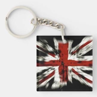 UK England Flag Acrylic Key Chain