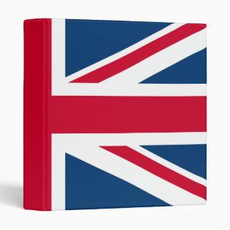 UK Flag British Union Jack Binders