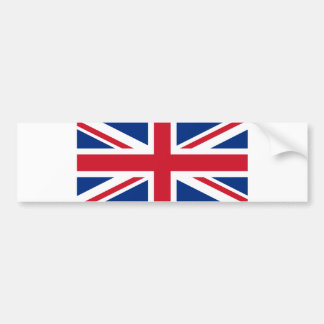 UK Flag Bumper Sticker