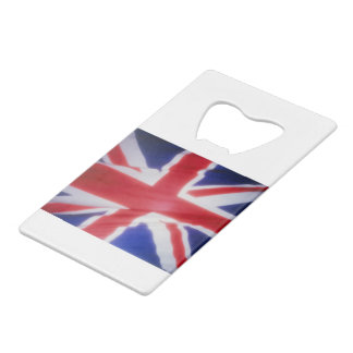 UK FLAG CREDIT CARD BOTTLE OPENER