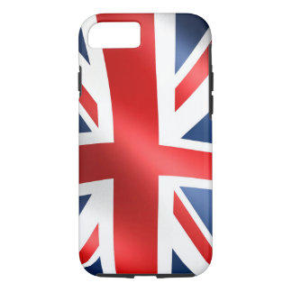 UK Flag for Apple iPhone 7, Tough iPhone 8/7 Case