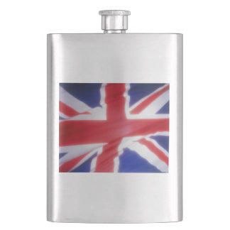 UK FLAG HIP FLASK