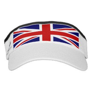 Uk flag is Union Jack Visor