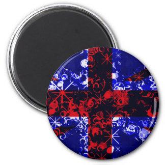 UK Flag London 3D magnet