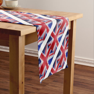 UK FLAG SHORT TABLE RUNNER